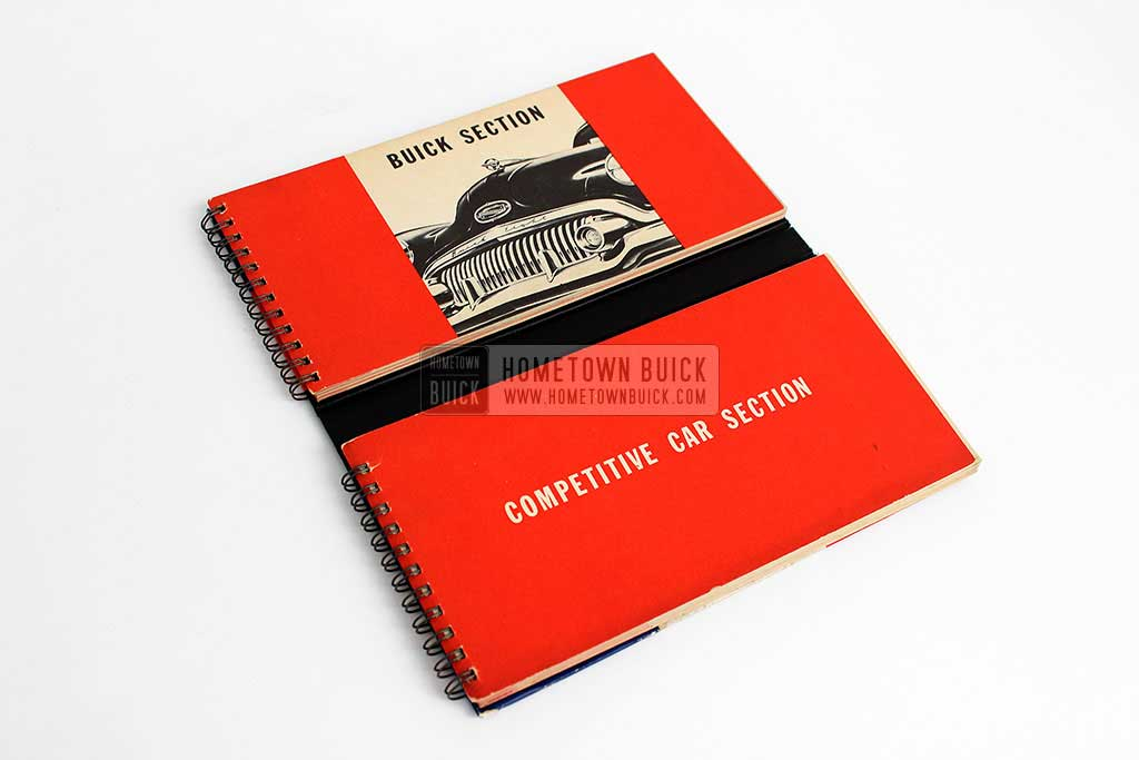 1951 Buick Match Book 04