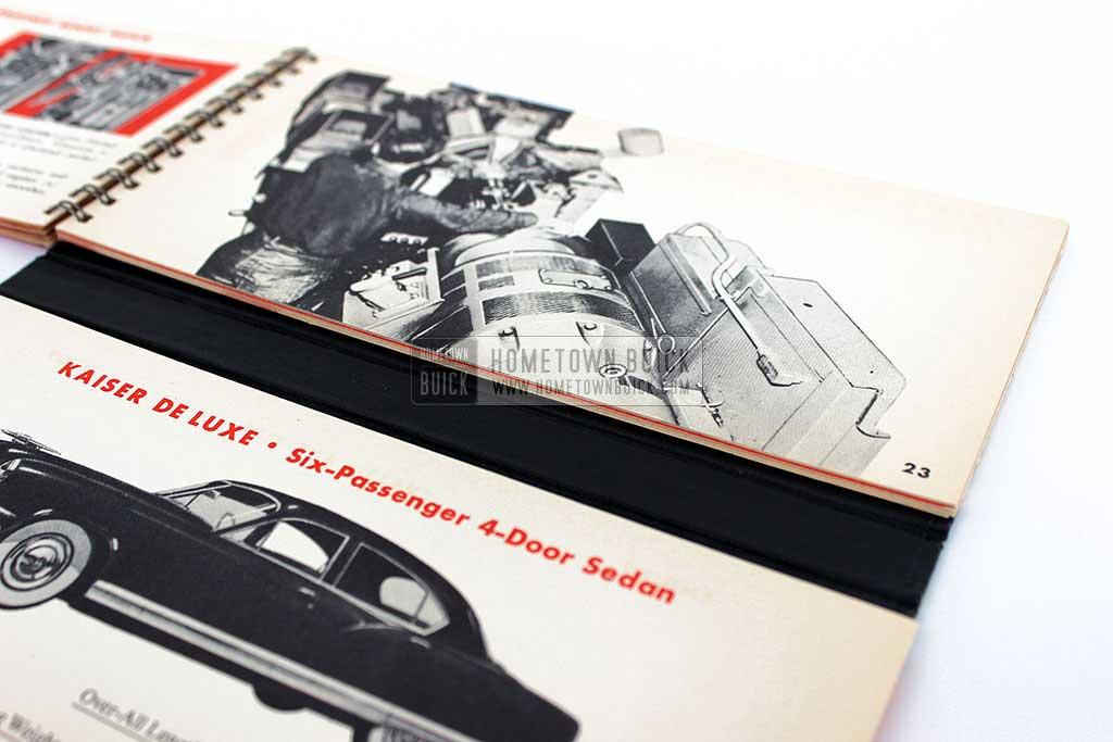 1951 Buick Match Book 08