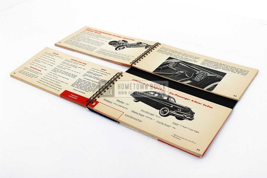 1951 Buick Match Book 09