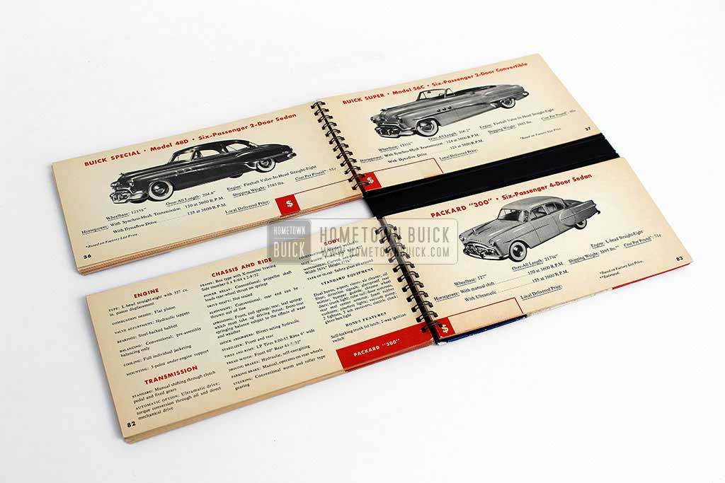 1951 Buick Match Book 11