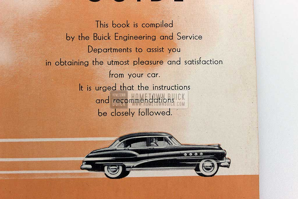 1951 Buick Owners Manual 04