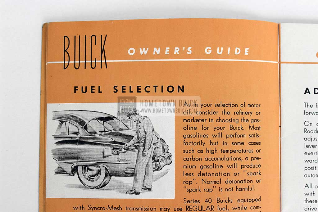 1951 Buick Owners Manual 06
