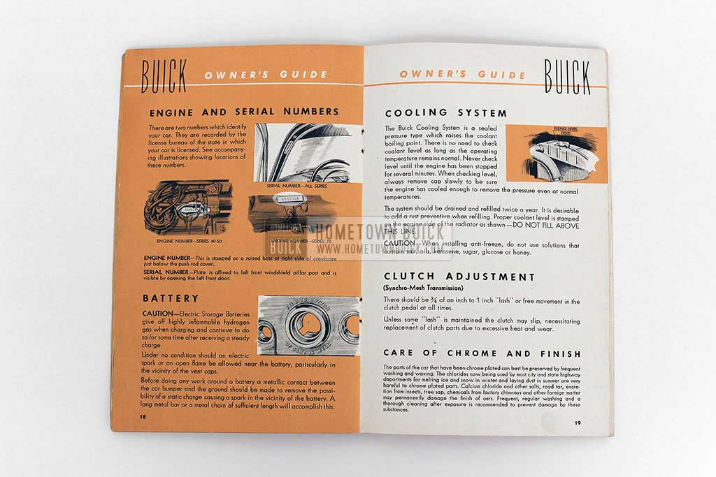 1951 Buick Owners Manual 07