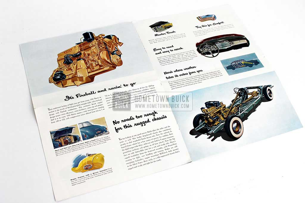 1951 Buick Sales Brochure - Hometown Buick