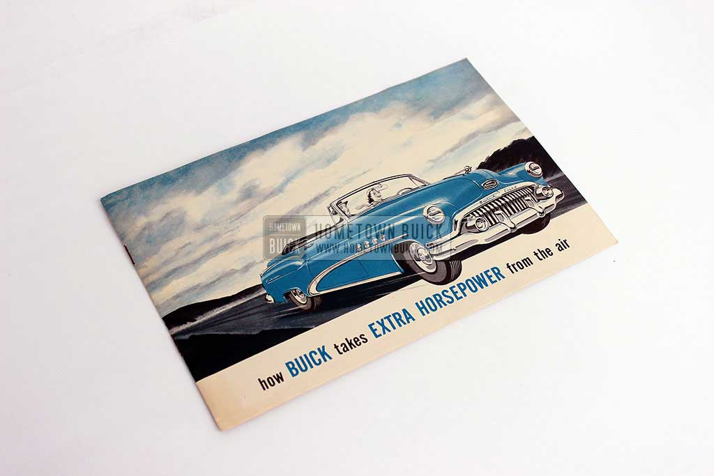1952 Buick Airpower Brochure 01