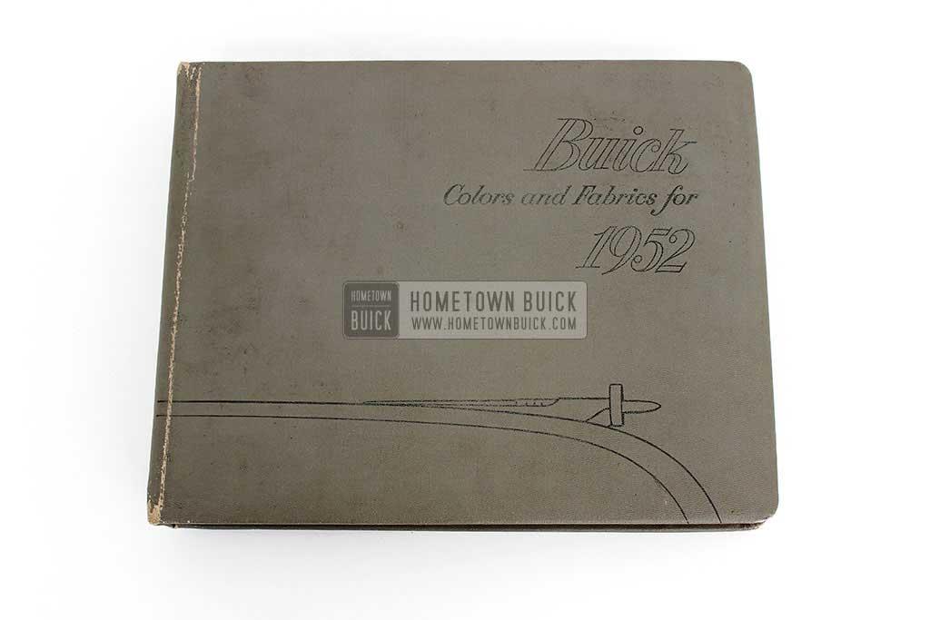 1952 Buick Colors & Fabrics Book 02