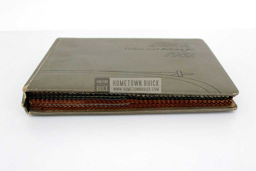 1952 Buick Colors & Fabrics Book 04