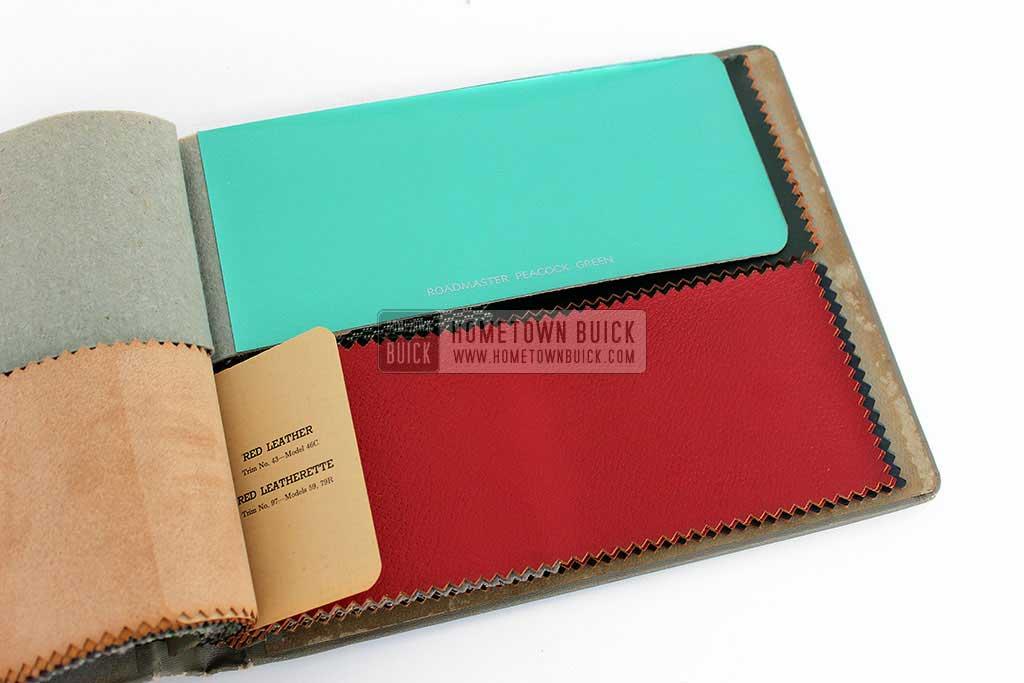1952 Buick Colors & Fabrics Book 08
