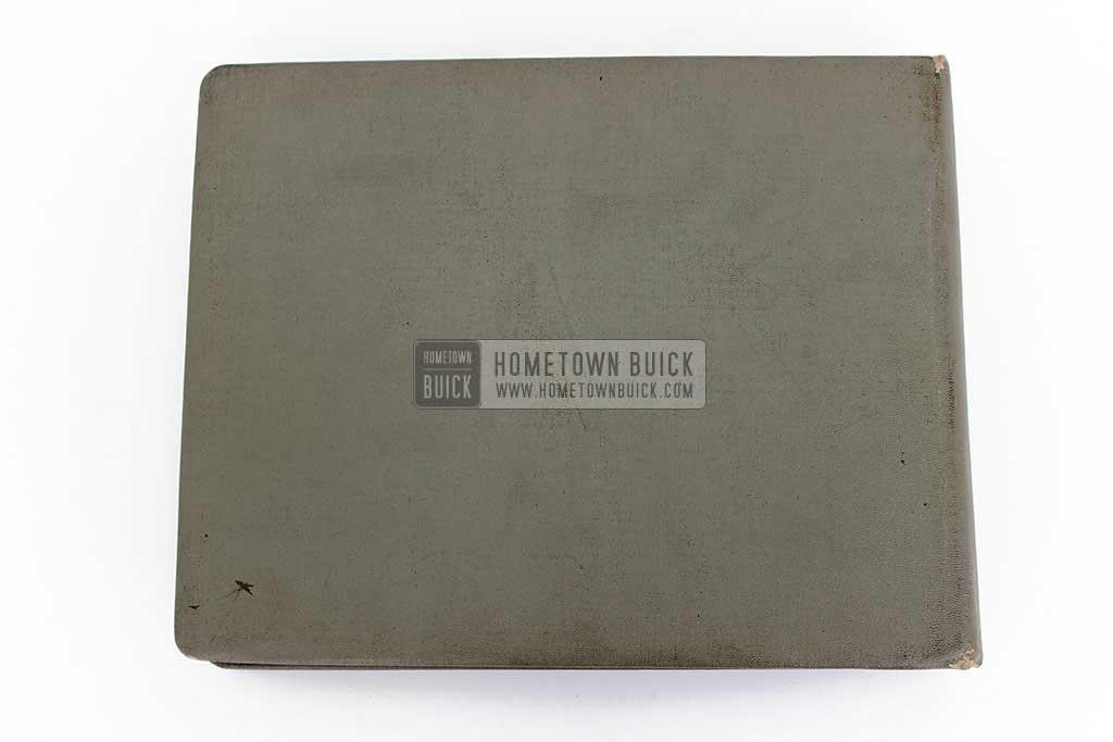 1952 Buick Colors & Fabrics Book 10