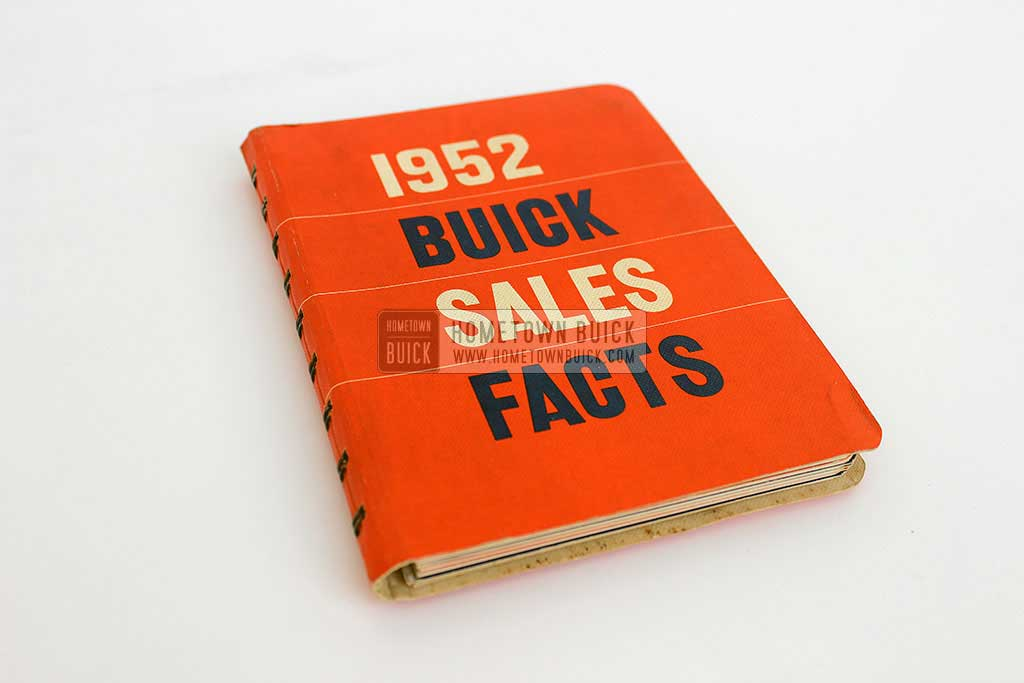 1952 Buick Dealer Facts Book 01