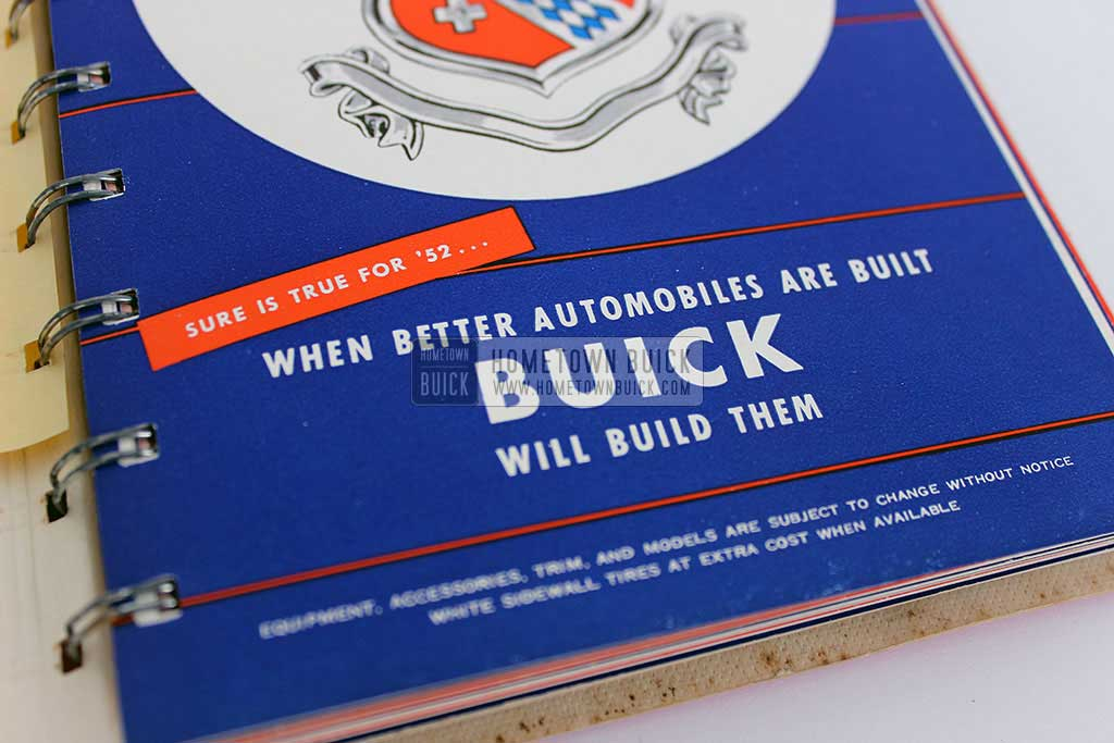 1952 Buick Dealer Facts Book 02