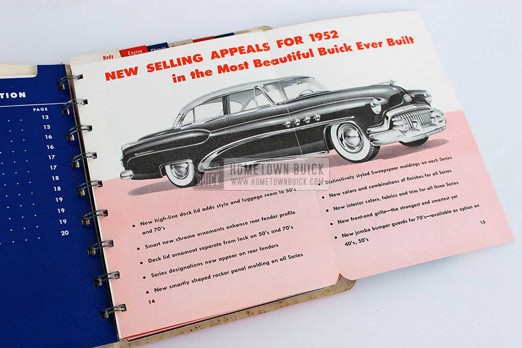 1952 Buick Dealer Facts Book 04