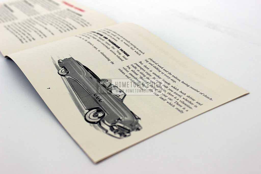 1952 Buick Dynaflow Brochure 05