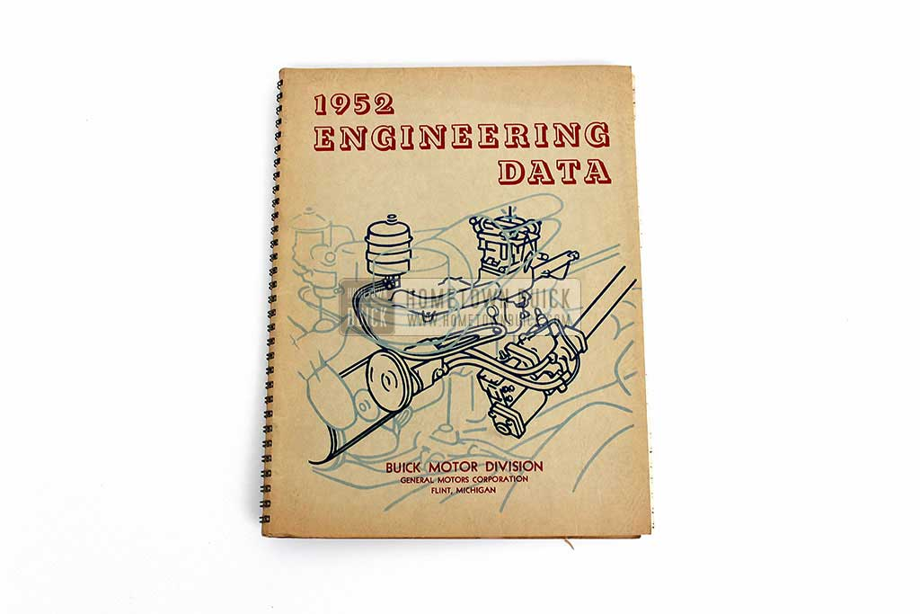 1952 Buick Engineering Data Book 02