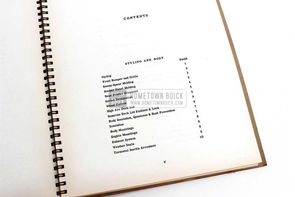 1952 Buick Engineering Data Book 05