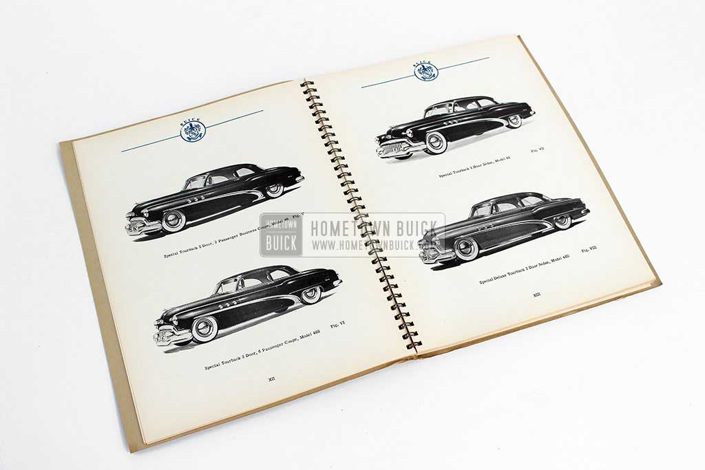 1952 Buick Engineering Data Book 06
