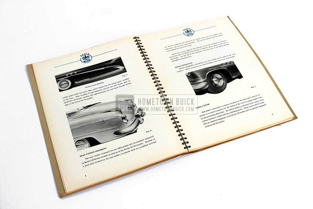 1952 Buick Engineering Data Book 07