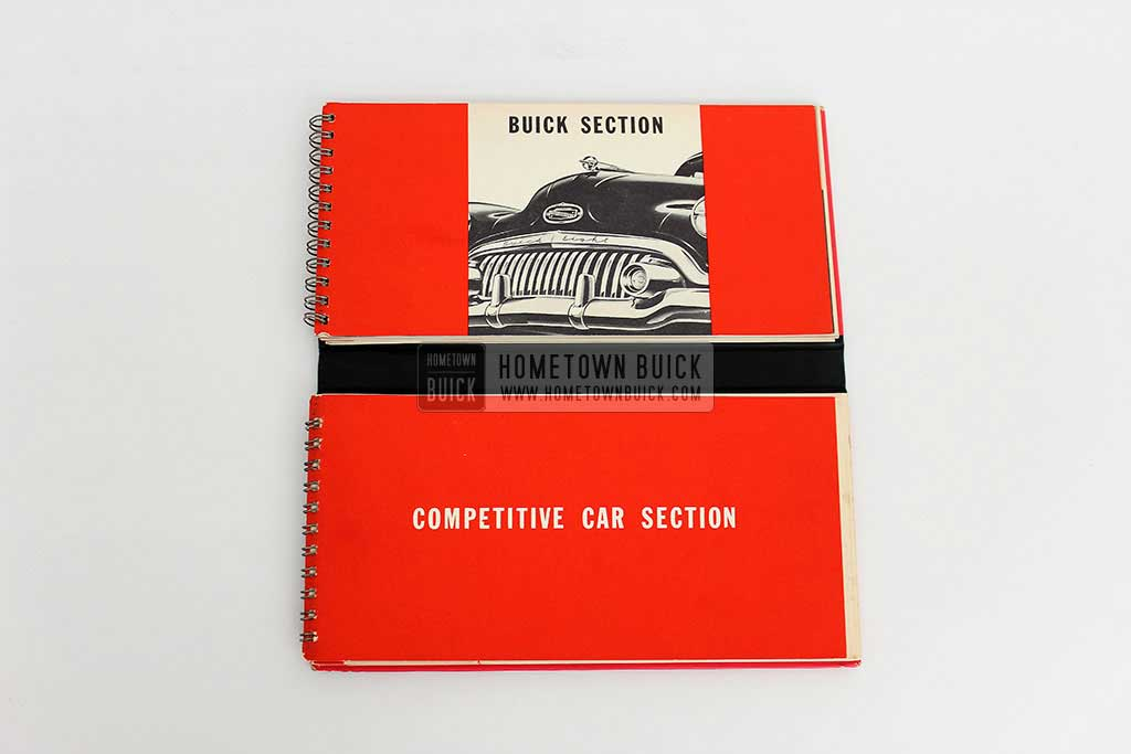 1952 Buick Match Book 04