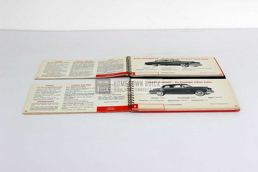 1952 Buick Match Book 07