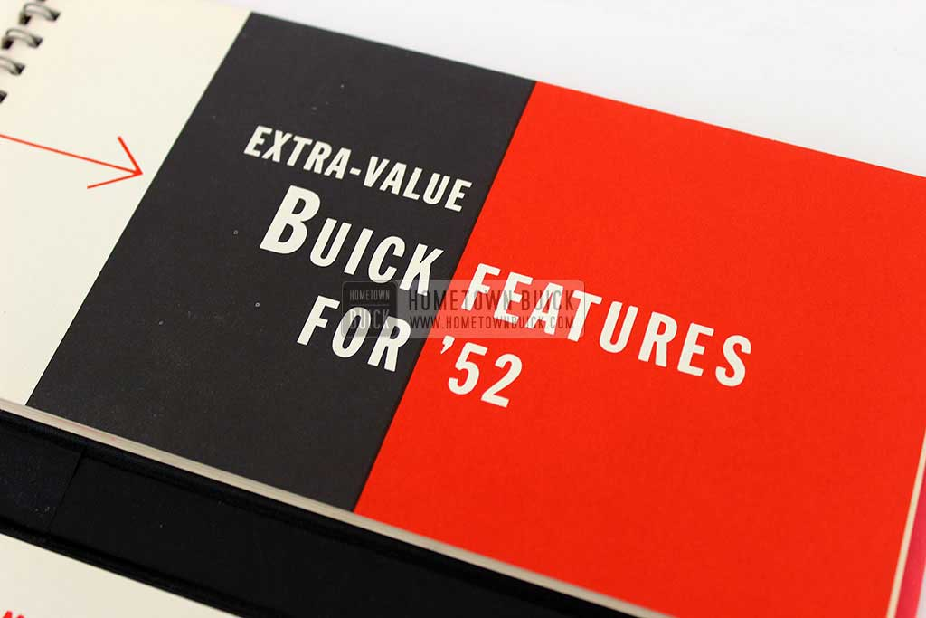 1952 Buick Match Book 08