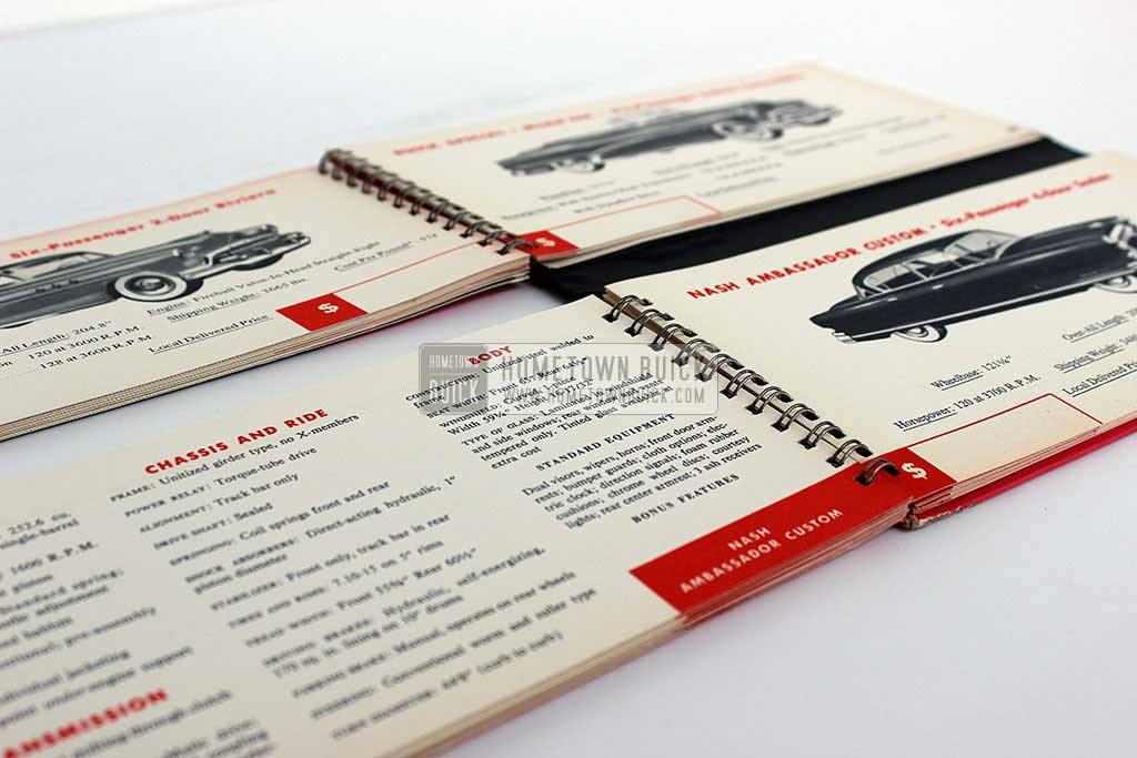 1952 Buick Match Book 12