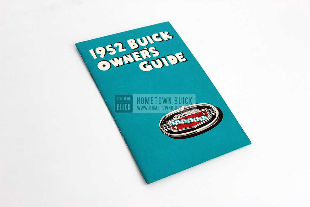 1952 Buick Owners Manual 01