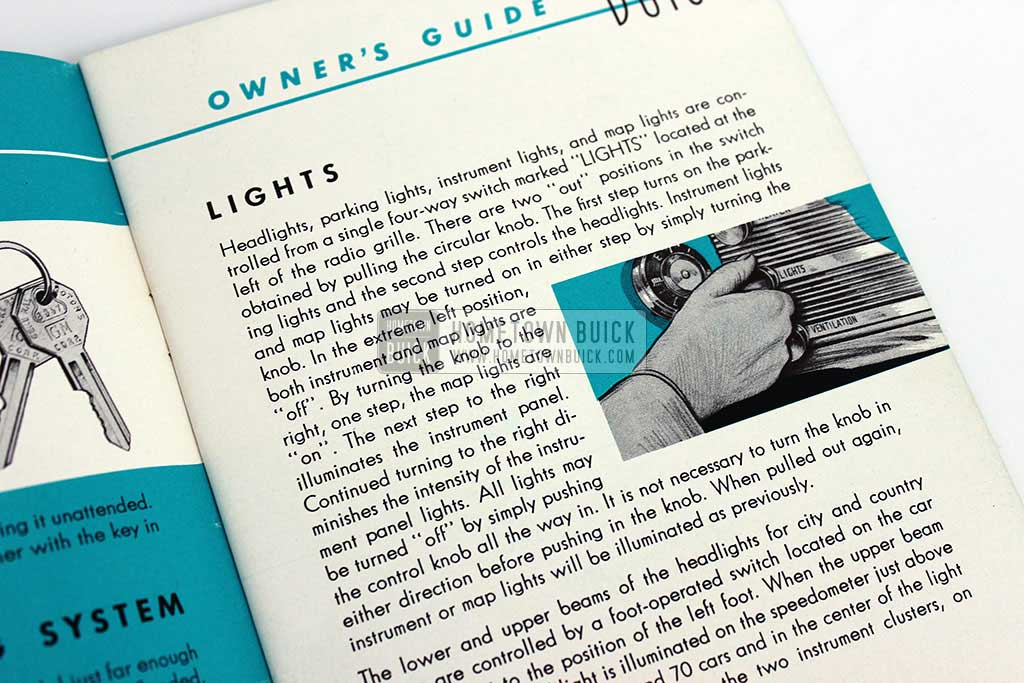 1952 Buick Owners Manual 04