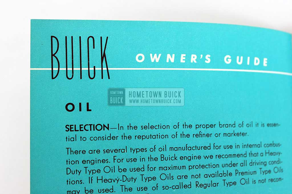 1952 Buick Owners Manual 05