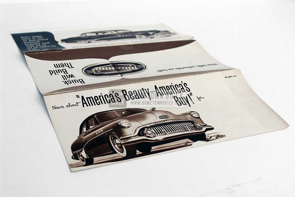 1951 Buick Sales Flyer 05
