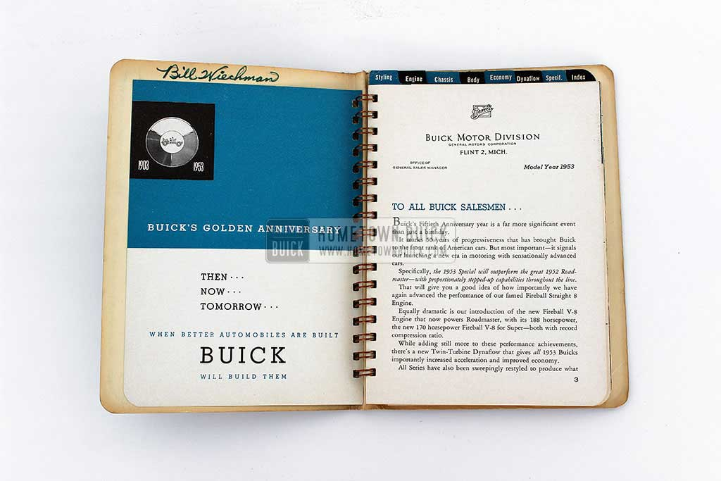 1953 Buick Dealer Facts Book 05