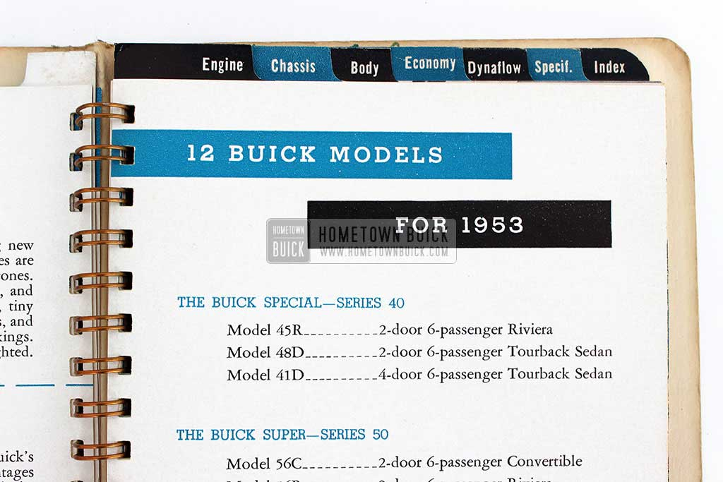1953 Buick Dealer Facts Book 07