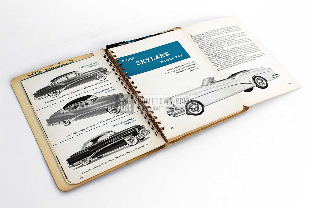 1953 Buick Dealer Facts Book 08