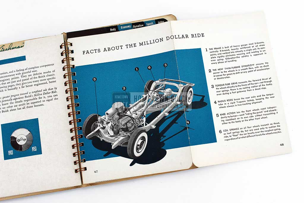 1953 Buick Dealer Facts Book 11