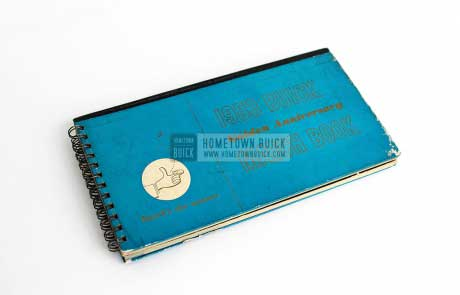 1953 Buick Match Book 01