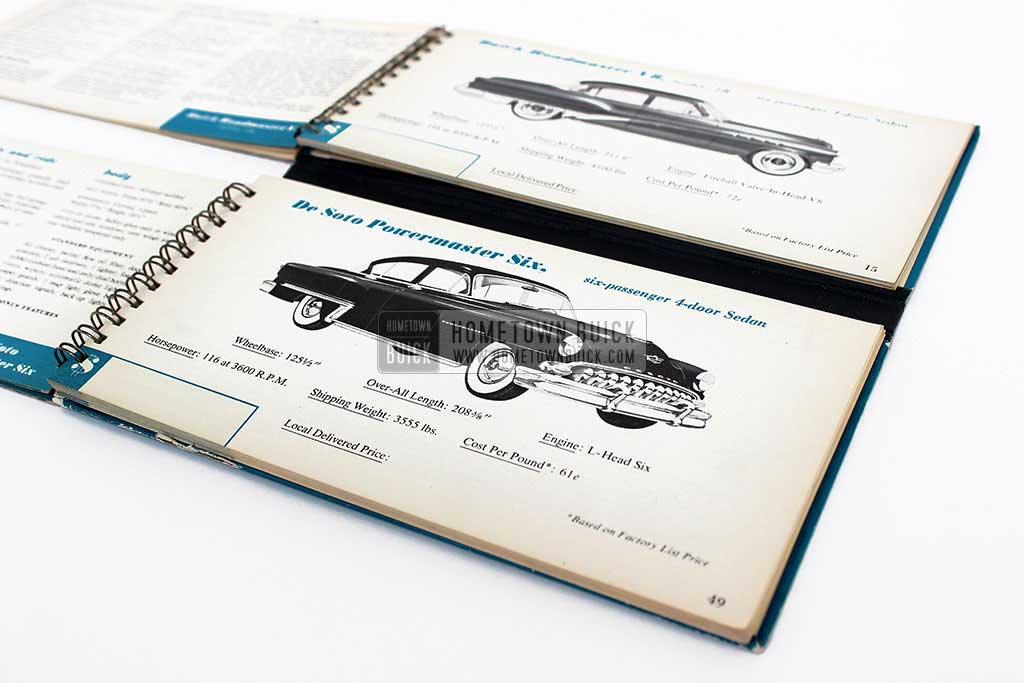 1953 Buick Match Book 08