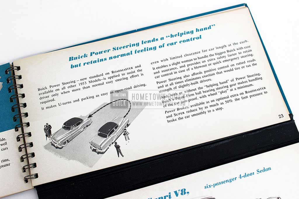 1953 Buick Match Book 10