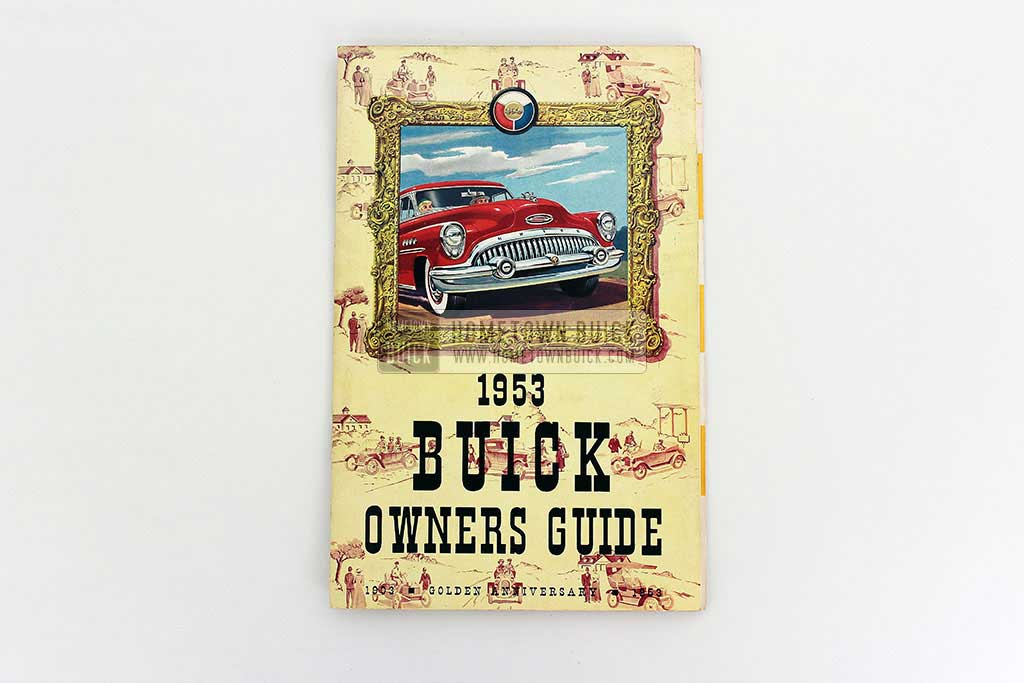 1953 Buick Owners Manual 02
