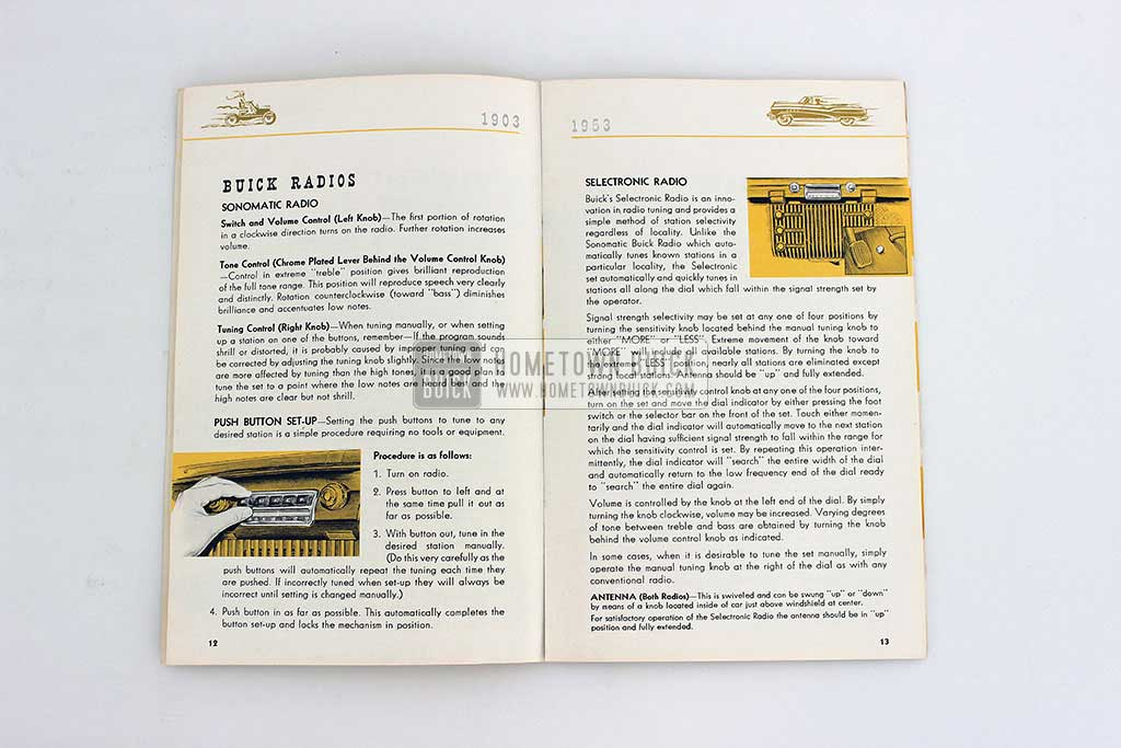 1953 Buick Owners Manual 06