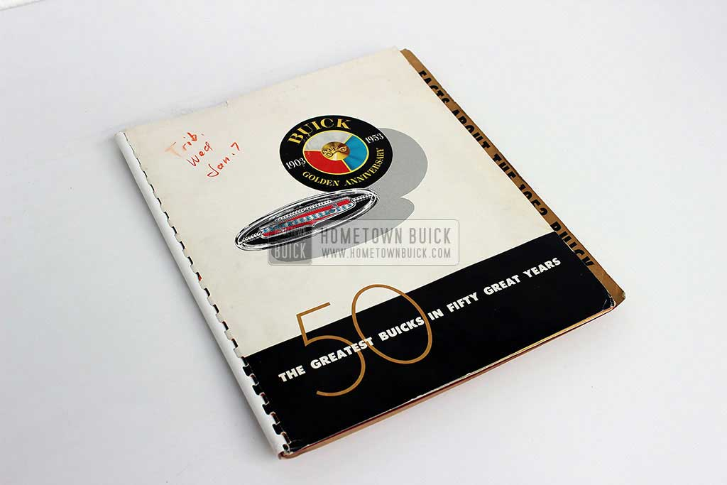 1953 Buick Press Release Kit 01