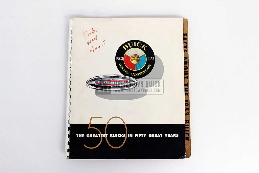1953 Buick Press Release Kit 02