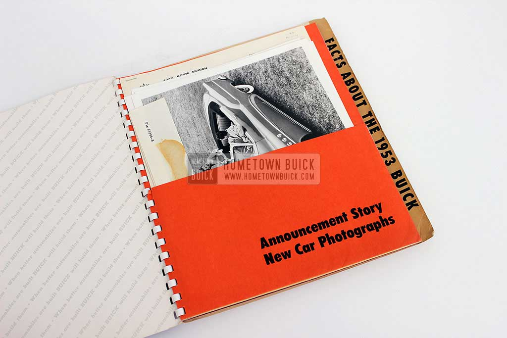 1953 Buick Press Release Kit 04