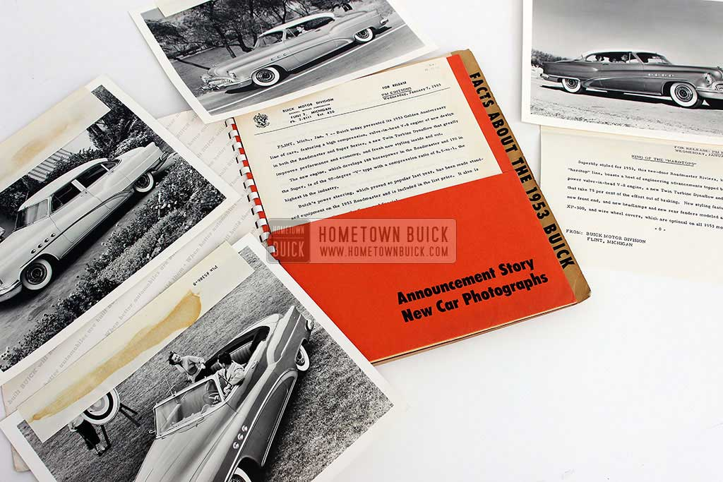 1953 Buick Press Release Kit 05