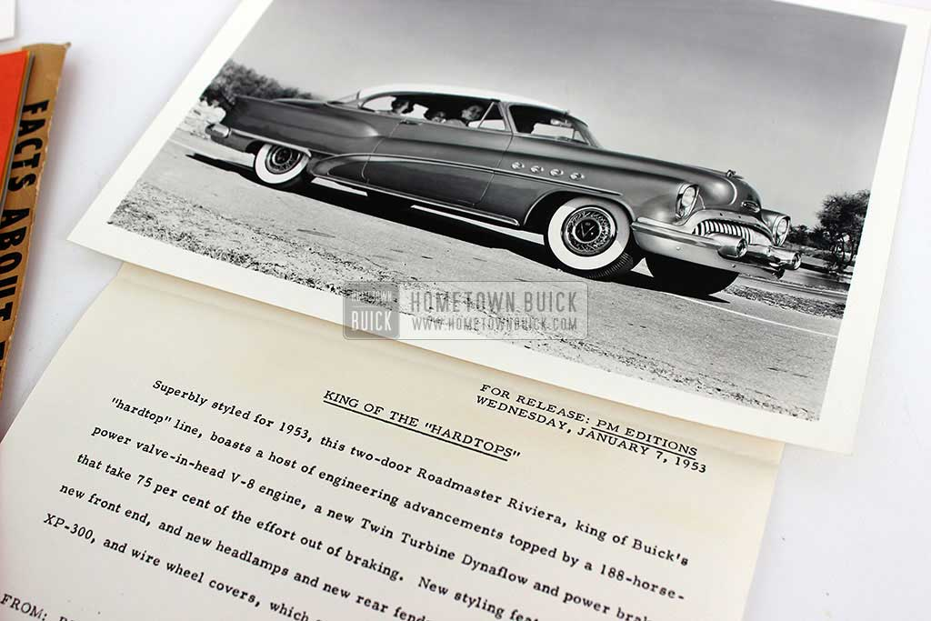1953 Buick Press Release Kit 06