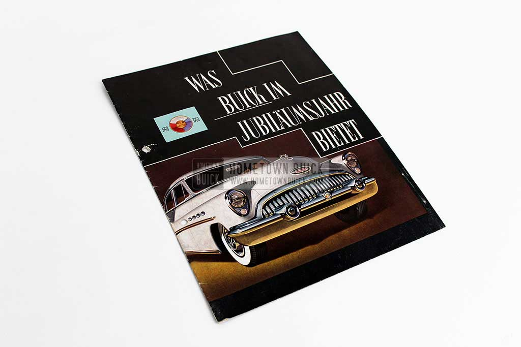 1953 Buick Sales Brochure Germany 01