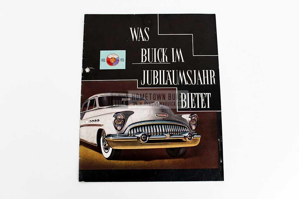 1953 Buick Sales Brochure Germany 02