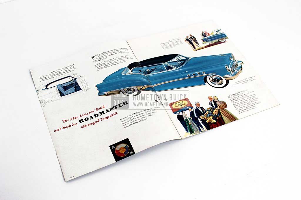 1953 Buick Sales Brochure Germany 03