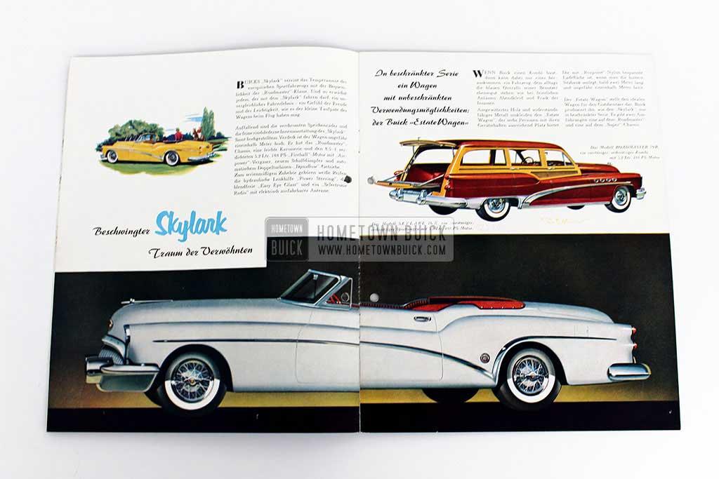 1953 Buick Sales Brochure Germany 04
