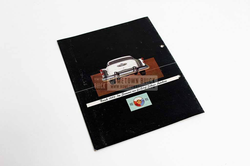 1953 Buick Sales Brochure Germany 10