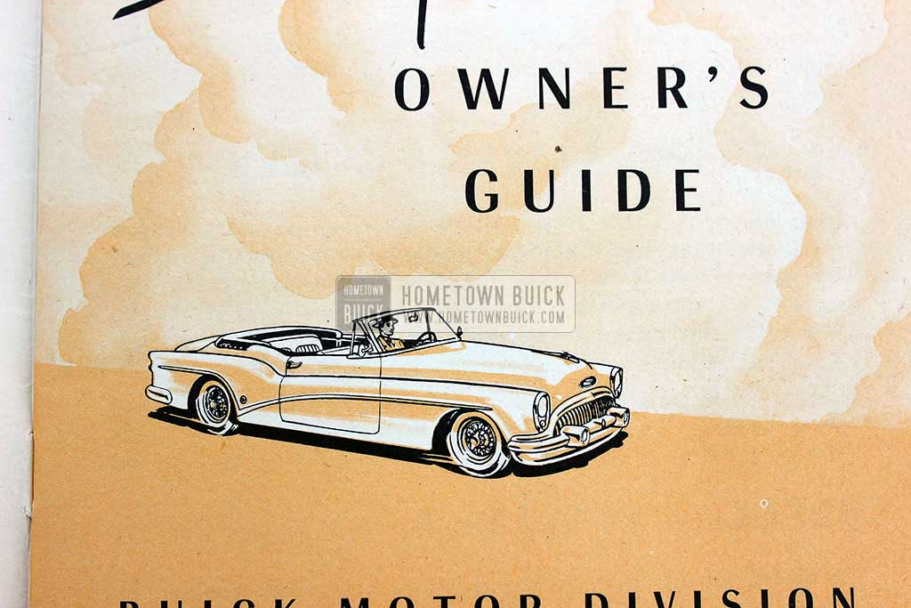 1953 Buick Skylark Owners Manual 04
