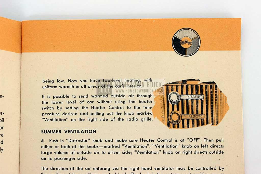 1953 Buick Skylark Owners Manual 05